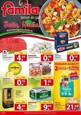Famila Nordost Prospekt – Aktuelle Angebote
