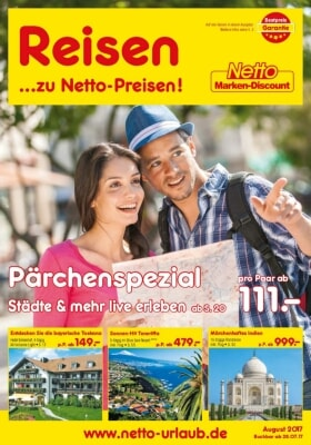 Netto Reisen Prospekt – September 2018